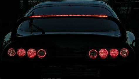 supra led tail lights macustom projects supra toyota supra mk4 taillight