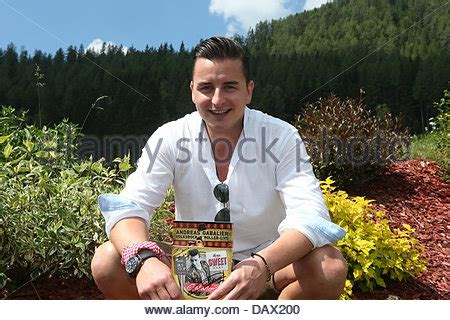 austrian folk singer andreas gabalier poses at the
