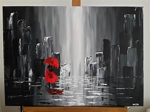 Schwarz Weiß Bilder Mit Rot : acryl malerei von jana ~ A.2002-acura-tl-radio.info Haus und Dekorationen