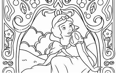 Coloring Princess Disney Pages Printable Digitally Theme