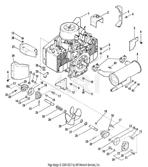 17 Hp Kohler Engine Diagram by Ariens 931019 006501 Gt 17hp Kohler Hydro Parts