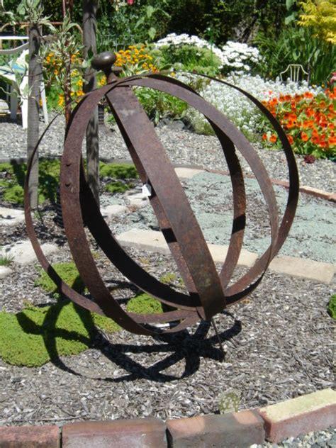metal garden orb garden the re