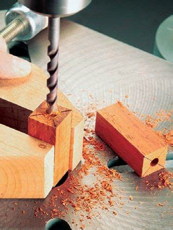 drill press drilling  hole    blank wood turning