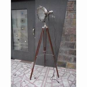 vintage searchlight designers chrome nautical spotlight With tripod spotlight floor lamp india