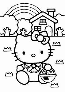 Hello Kitty Coloring Pages | Coloring Pages To Print