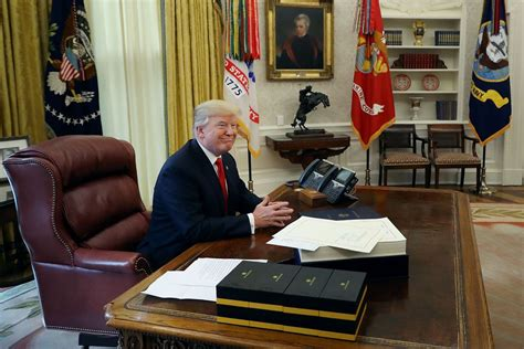 trump donald office oval president obama says everyone presidential merry christmas bannon mind lost reform saying works bill being during