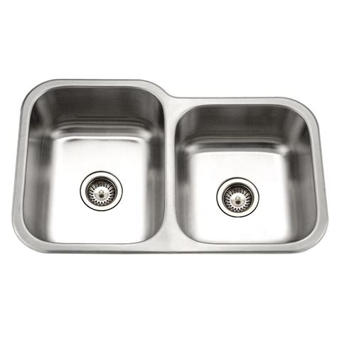 small undermount kitchen sink houzer medallion classic series undermount stainless steel