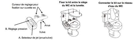 Comment Utiliser Un Bidet by Wc Japonais Ou Toilette Japonaise Kit Douchette Wc Ou