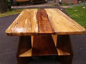 Logan's Inside-out Live-edge Coffee Table - The Wood Whisperer