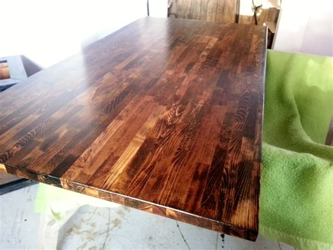 Staining Butcher Block Countertops by Waterlox On Butcher Block Countertops Home Improvement