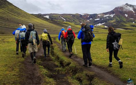 Laugavegur Highlands Trekking 4 Day Hike Arctic Adventures
