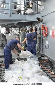 US Coast Guard on drug patrols near Cayman Islands Stock ...