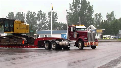Timberking Tk721 Being Transported Youtube
