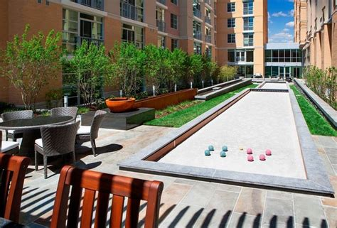 dc apartment park highland amenities buildings washington apartments courtyard main court bocce scale exterior perks columbia heights metro map serious