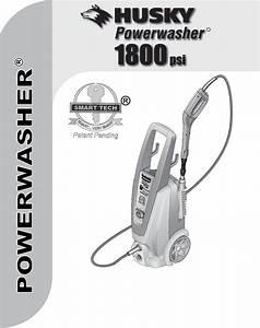 Husky Pressure Washer 1800psi User Guide