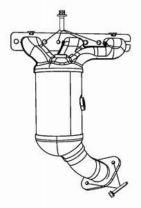 2010 Dodge Journey Sxt 3 5l V6 A  T Manifold  Used For