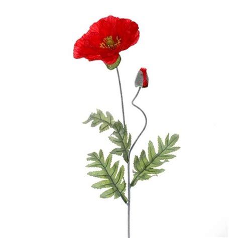 Floare mac rosu artificiala flori artificiale maci decorativi Poppy