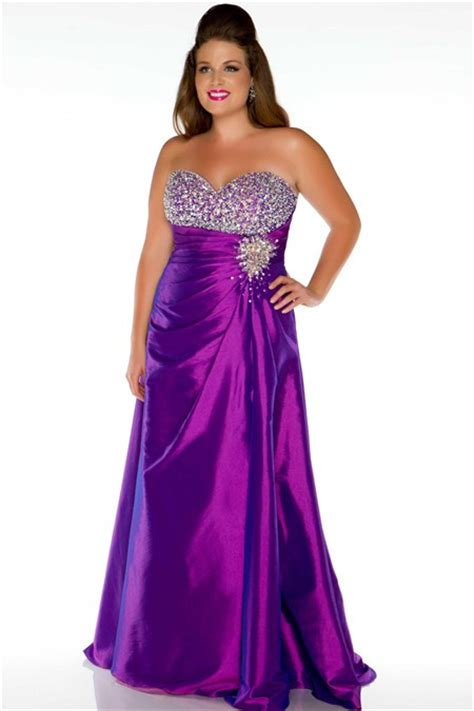 plus size purple dresses (17) ? Cheap Plus Size Dresses, Black, White, Prom And Wedding