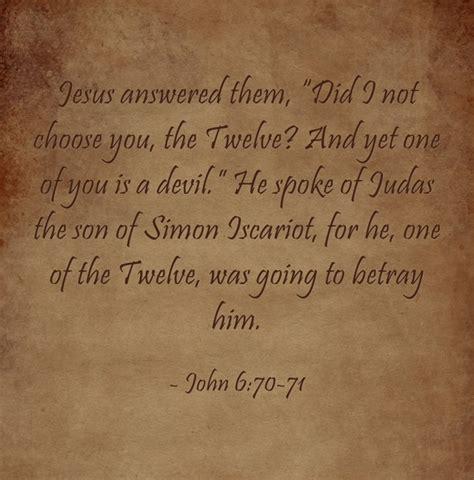 top  bible verses  judas iscariot jack wellman