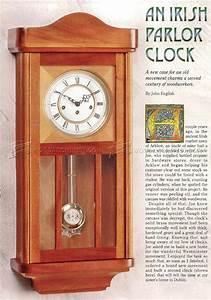 Wall Clock Plans • WoodArchivist