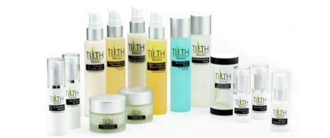 skin care product design and packaging design for tilth by ill