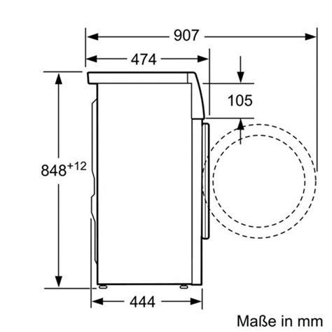 Toplader Waschmaschine Maße by Ma 223 E Einer Waschmaschine Industriewerkzeuge Ausr 252 Stung