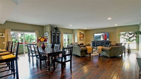 color wheel house paint living dining room open floor
