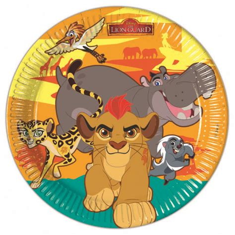 The Lion Guard Paper Plates  Party Supplies, Ideas