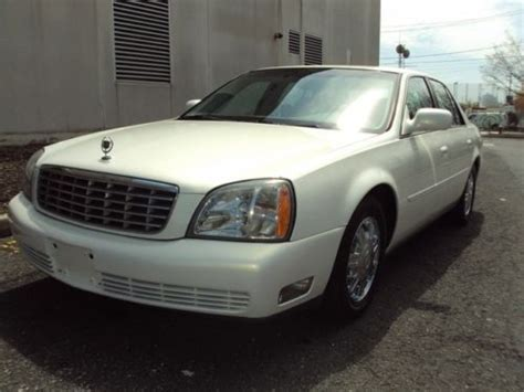 purchase used 2004 cadillac deville leather chrome wheels