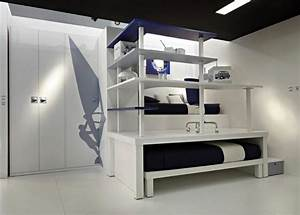18 cool boys bedroom ideas interior decorating home for Cool bedroom ideas
