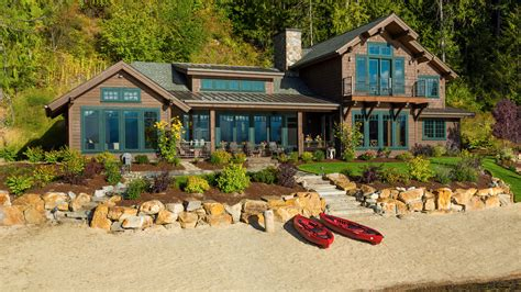 craftsman houses plans lake house in sandpoint idaho mountain architects