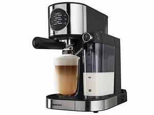 Kaffeemaschine Mit Milchaufschäumer : silvercrest espressomaschine mit milchaufsch umer semm 1470 a1 lidl deutschland ~ Eleganceandgraceweddings.com Haus und Dekorationen