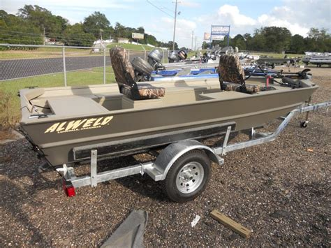 Alweld Panfish Boats by Andalusia Marine And Powersports Inc New Alweld 16ft