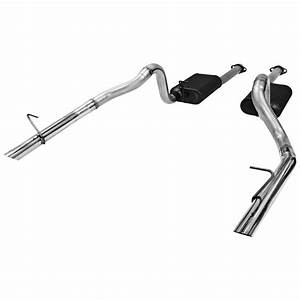 1986-1993 Ford Mustang LX 5.0L Flowmaster American Thunder Cat-Back Exhaust - 817213