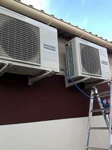 Chauffage Clim Reversible Consommation : climatisation r versible gainable pompe chaleur air ~ Premium-room.com Idées de Décoration
