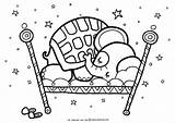 Coloring Sleep Tight Oksancia Printable Craft Patterns Line Elephant Quilt sketch template