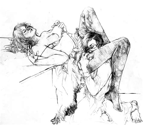 Jen Lights Portfolio Erotic Drawings