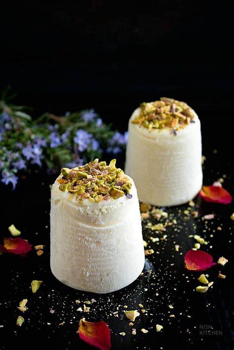 malai kulfi indian ice cream video nish kitchen