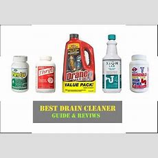 10 Best Drain Cleaner Of 2018  Buyer's Guide & Reviews