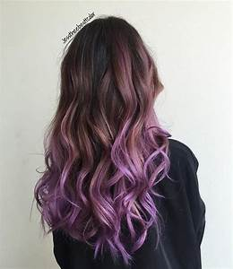 20 Purple Ombre Hair Color Ideas - PoPular Haircuts