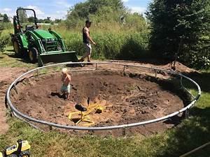In Ground Trampolin : in ground trampoline construction2style ~ Orissabook.com Haus und Dekorationen
