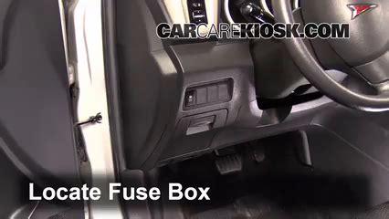 04 Vibe Fuse Box by Interior Fuse Box Location 2009 2010 Pontiac Vibe 2009