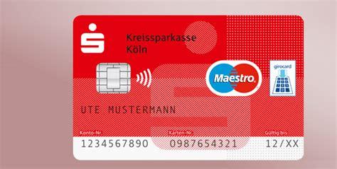 sparkassen card debitkarte weltweit sicher und