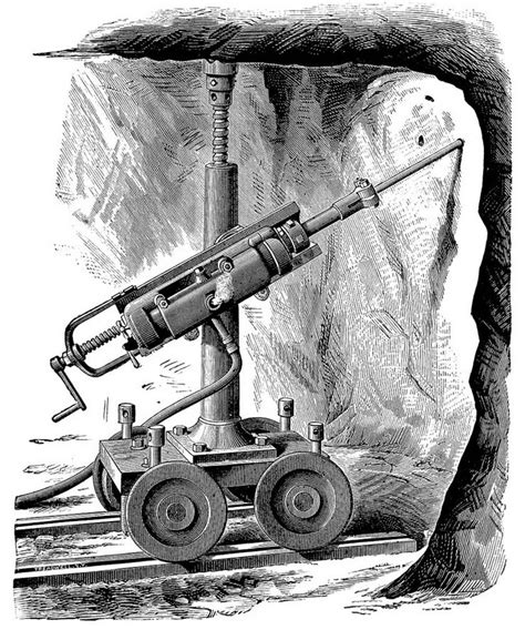 The Ingersoll Rock Drill (1879)