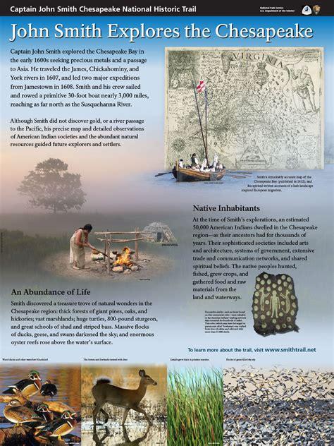 captain john smiths chesapeake national historic trail