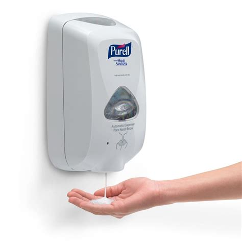 automatic touchless handsfree hand sanitizer dispenser
