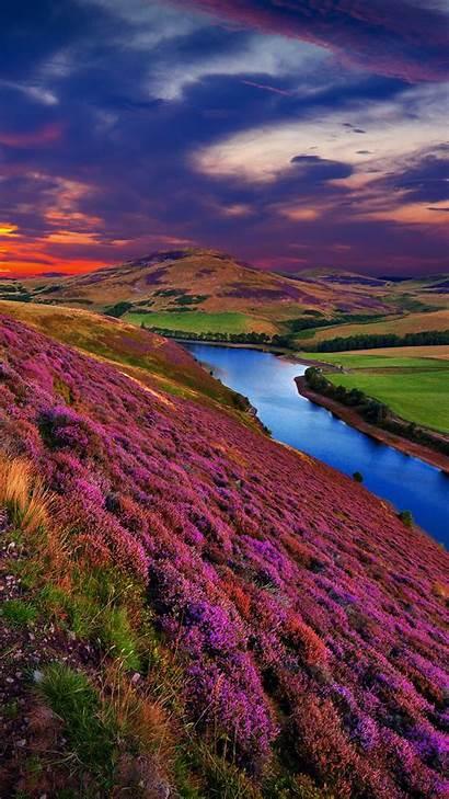 Scenery Scotland Landscape Spotlight Windows Hills Pentland