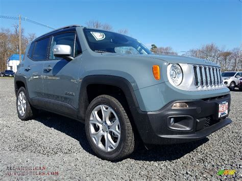 anvil jeep renegade sport 2018 jeep renegade limited 4x4 in anvil for sale h06547