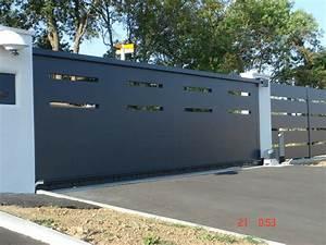 Portail Brico Depot 4m : portail coulissant alu 5m prix portail fer plein 3m carlier construction ~ Farleysfitness.com Idées de Décoration