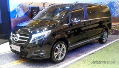 Modifikasi Mercedes V Class by Mercedes Indonesia Luncurkan V Class Terbaru